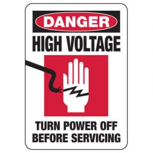 Electrical Safety Sign
